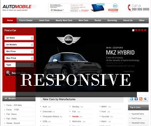 Automobile responsive