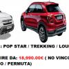 NUOVO / KM0 – FIAT 500X 1.3 MultiJet 95 CV  VARI ALLESTIMENTI / MOTORIZZAZIONI