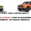 NUOVO / KM0 – JEEP Renegade 1.6 Mjt Limited PERMUTE NAVI