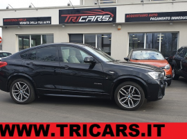 BMW X4 xDrive 20d MSPORT – GANCIO TRAINO – PERMUTE